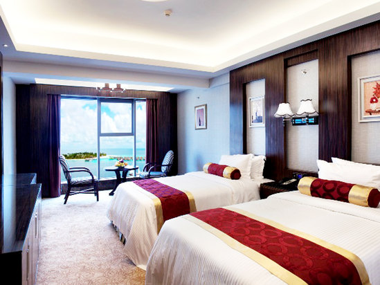Deluxe Twin-Bed Room (Sea view)