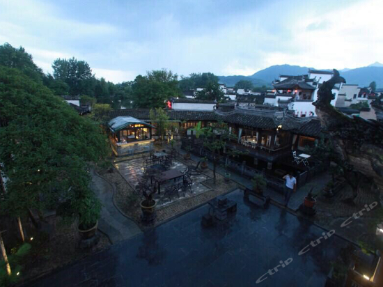 Hongcun Yunshan mountain scenery house
